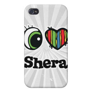I Love (Heart) Shera Case For iPhone 4