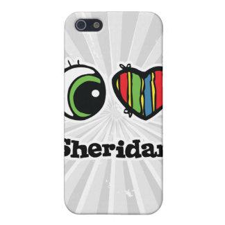 I Love (Heart) Sheridan iPhone 5 Covers