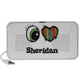 I Love (Heart) Sheridan Travelling Speaker