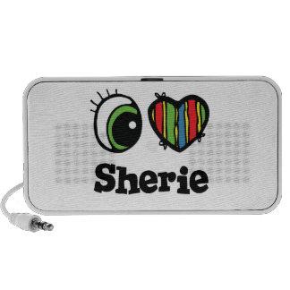 I Love (Heart) Sherie Speakers