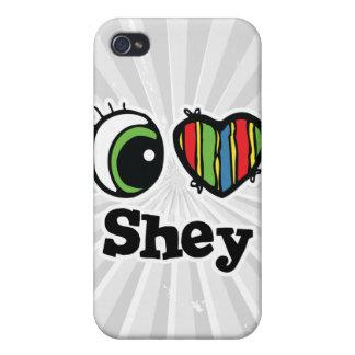 I Love (Heart) Shey iPhone 4 Covers