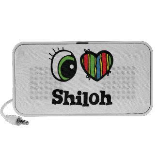I Love (Heart) Shiloh Mini Speakers