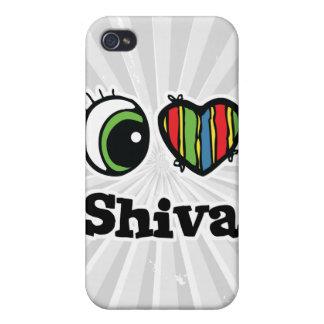 I Love (Heart) Shiva iPhone 4 Cover