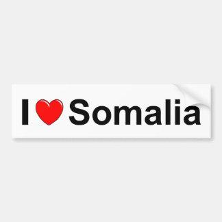 I Love Heart Somalia Bumper Sticker