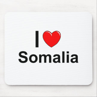 I Love Heart Somalia Mouse Pad