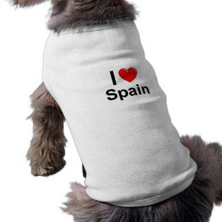 I Love Heart Spain Shirt