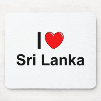 I Love Heart Sri Lanka Mouse Pad
