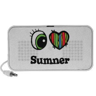 I Love (Heart) Sumner PC Speakers