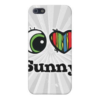 I Love (Heart) Sunny iPhone 5/5S Case