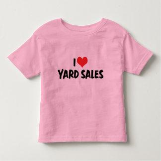 I Love Heart Swap Meets - Flea Market Lover Toddler T-Shirt