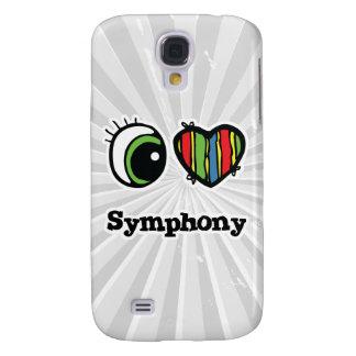 I Love (Heart) Symphony Samsung Galaxy S4 Case