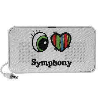 I Love (Heart) Symphony Travel Speaker