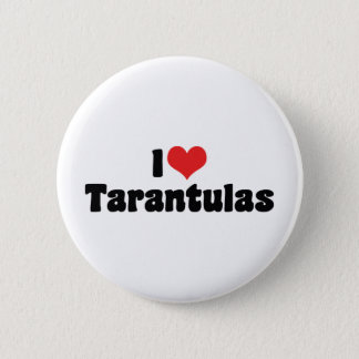 I Love Heart Tarantulas - Spider Lover 6 Cm Round Badge