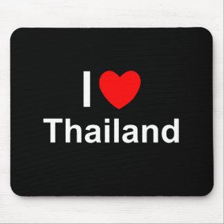 I Love Heart Thailand Mouse Pad