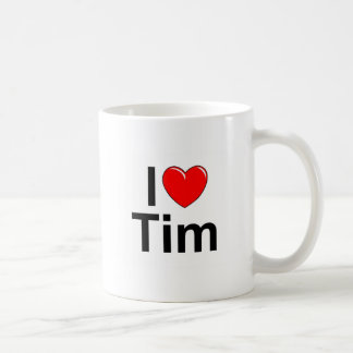 I Love (Heart) Tim Coffee Mug