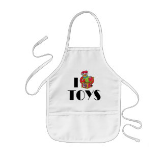 I Love Heart Toys - Toy Collector Lover Kids Apron