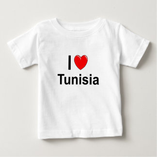 I Love Heart Tunisia Baby T-Shirt