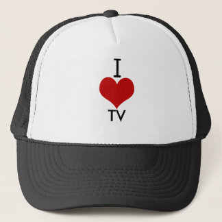I Love (heart) TV Trucker Hat