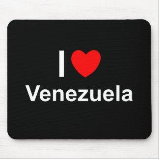 I Love Heart Venezuela Mouse Pad