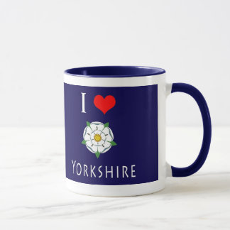 I Love (heart) Yorkshire mug