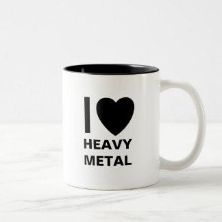 I Love Heavy Metal Mug