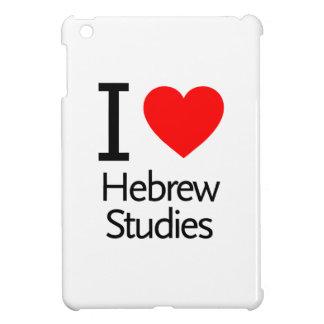 I Love Hebrew Studies iPad Mini Case