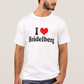 I Love Heidelberg, Germany T-Shirt