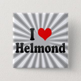 I Love Helmond, Netherlands 15 Cm Square Badge