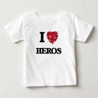 I Love Heros T Shirts