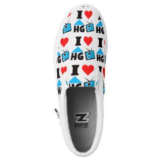 I Love HG TV Slip On Shoes