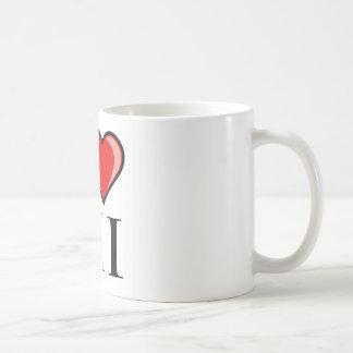 I Love HI - Hawaii Mug