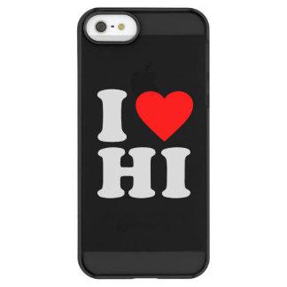 I LOVE HI PERMAFROST® iPhone SE/5/5s CASE