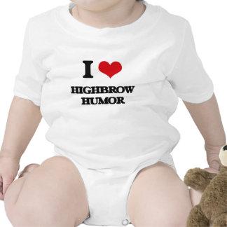 I love Highbrow Humor Rompers