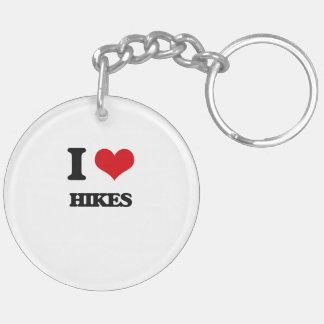 I love Hikes Acrylic Key Chains