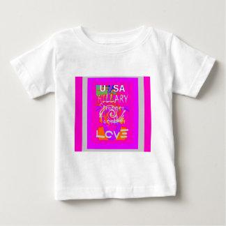 I Love Hillary USA President Stronger Together art Baby T-Shirt