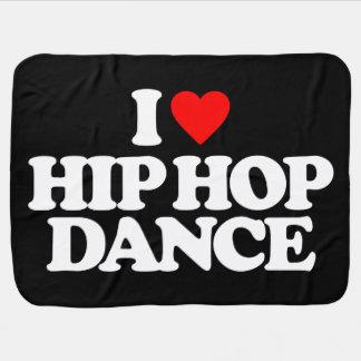 I LOVE HIP HOP DANCE BUGGY BLANKETS
