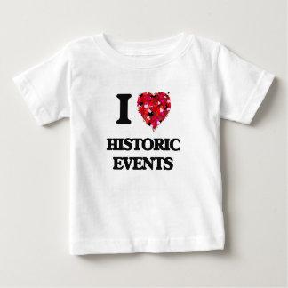 I Love Historic Events T Shirt