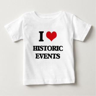 I love Historic Events Tees