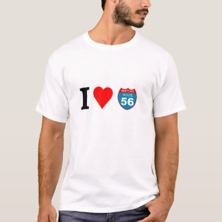 I love Historic Route 56 T-Shirt