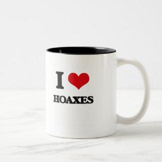 I love Hoaxes Coffee Mug