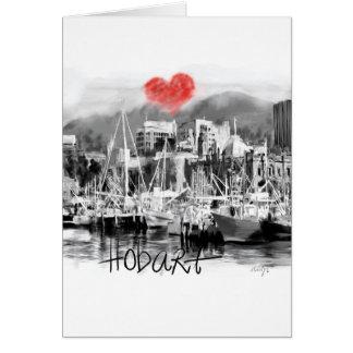 I love Hobart Card