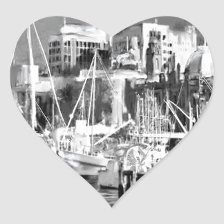 I love Hobart Heart Sticker