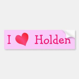 I Love Holden Bumper Stickers