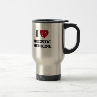 I Love Holistic Medicine Stainless Steel Travel Mug