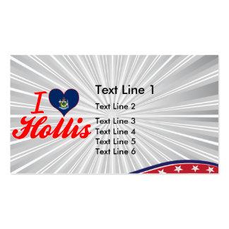 I Love Hollis, Maine Business Card