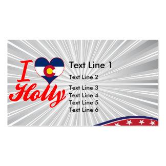 I Love Holly, Colorado Business Card Templates