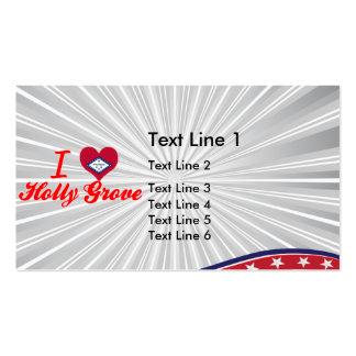 I Love Holly Grove Arkansas Business Cards