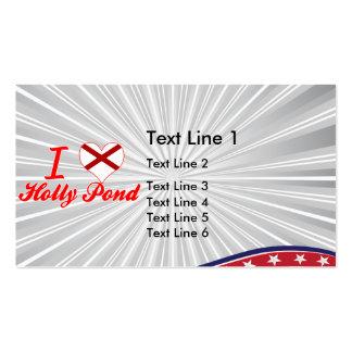 I Love Holly Pond Alabama Business Card