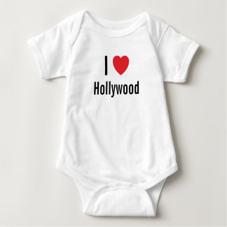 I love Hollywood Baby Jumper Baby Bodysuit