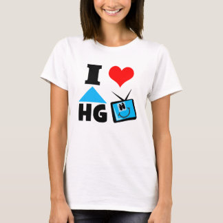 I Love Home and Garden TV T-Shirt